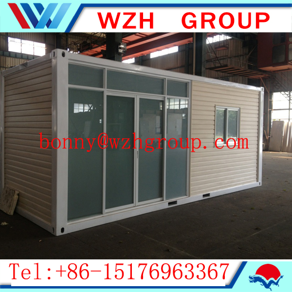 cheap container houses for sale with aluminium windows