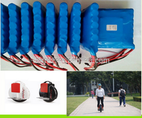 Hot selling! 60v 16s1p electric unicycle/scooter/monocycle battery pack 18650 battery pack 60v 2200mah