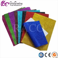 high quality Scrapbook Wrapping Decoration Craft diamond sparking Glitter Cardstock Paper