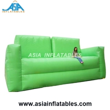 China Factory Price Inflatable Sofa Model/ Green Inflatable Furniture Sofa for Family
