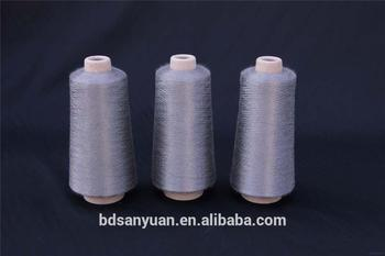conductive thread sewing thread 100% stainless steel metal sewing thread china factory