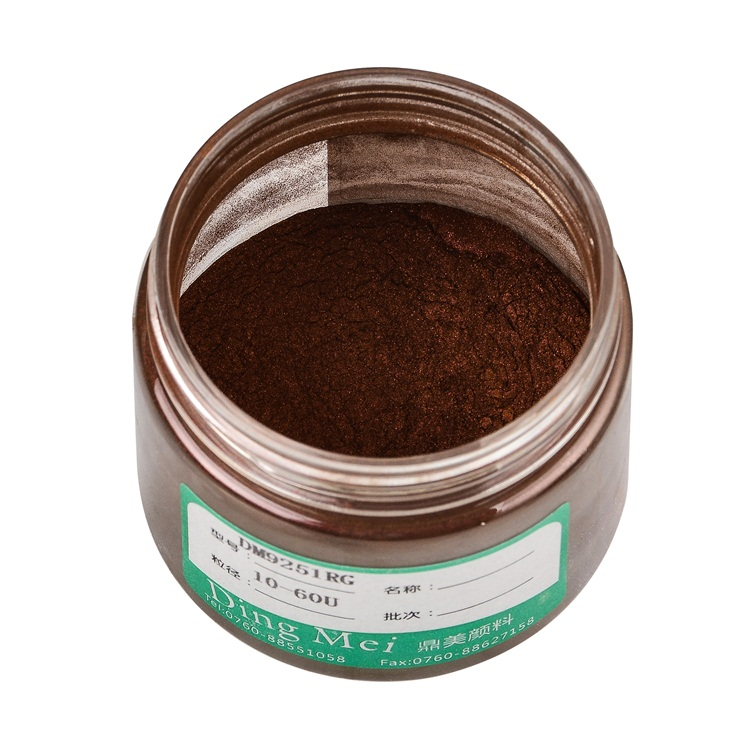 High Color Concentration Oxide Ceramic Micro Pearl Pigment