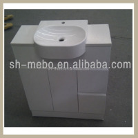 table bathroom furniture/ floor bathroom vanity/MDF mirror cabinet