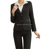 Ladies Formal Office Pant Suit Design
