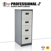 Steel KD structure drawer cabinet design for Pakistan