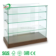 Customize LED Light Glass Display / Jewelry Shop Decoration/Glasses Cabinet Display Stand