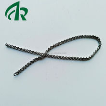 Top hot sell steel silver gold black rounded box chains for jewelry making heavy big chains for necklaces