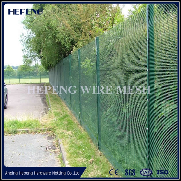 Heavily zinc or RAL Color Powder Coating 358 Security Fence Mesh For AU Market (ISO9001;MANUFACTURER)