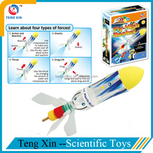Funny educational games toy rocket