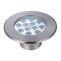 Stainless steel housing 9 watt warm white led underwater lighting