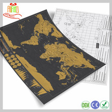 Scratch Map Deluxe Scratch Map Travel scratch-off World Map