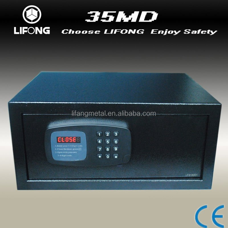 Factory supply metal biometic cheap hotel&home safe