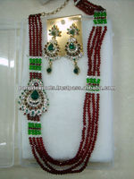Indian Crystal Jewellery Set