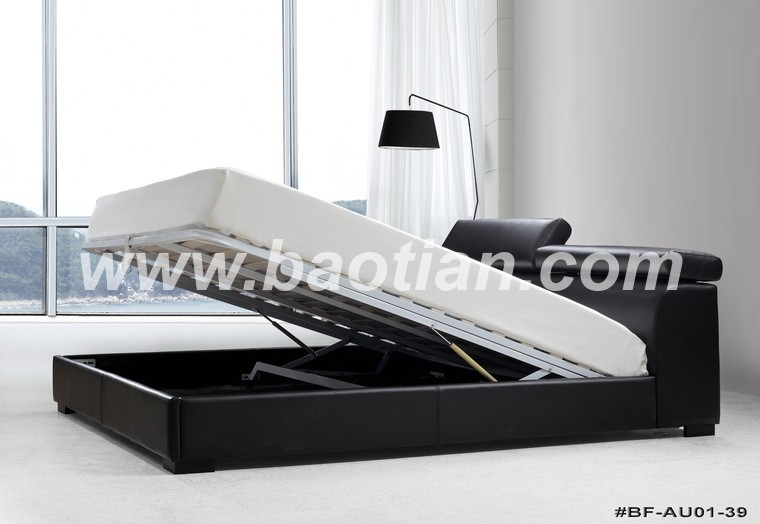 Raise bed frame raise bed frame metal modern bed frame for How to raise your bed frame
