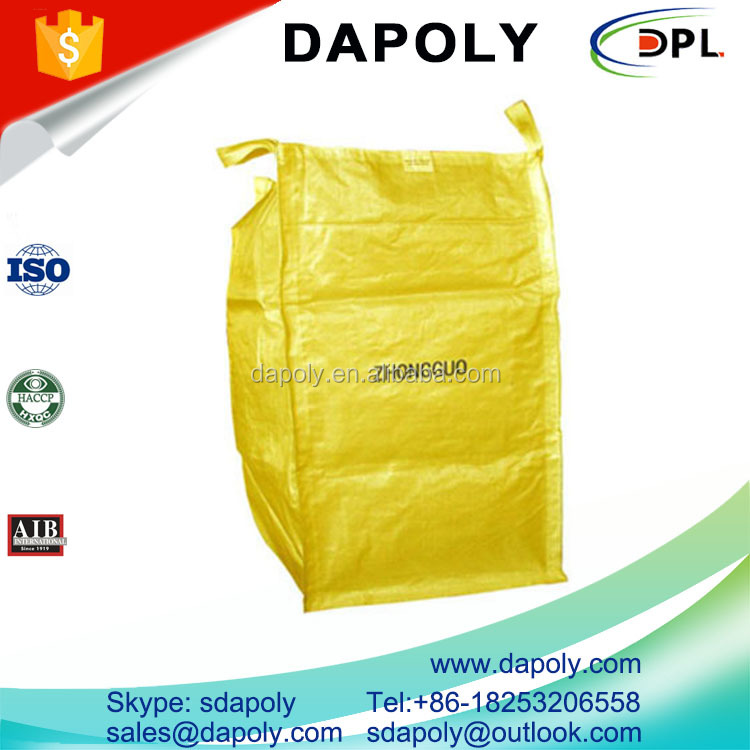1.5 ton jumbo bag/1500kg fibc bulk bag for sugar