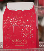 2014 new design box wedding favor