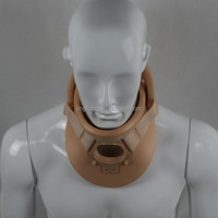 Medical foam adult and child cervical collar neck brace 2 pieces neck support