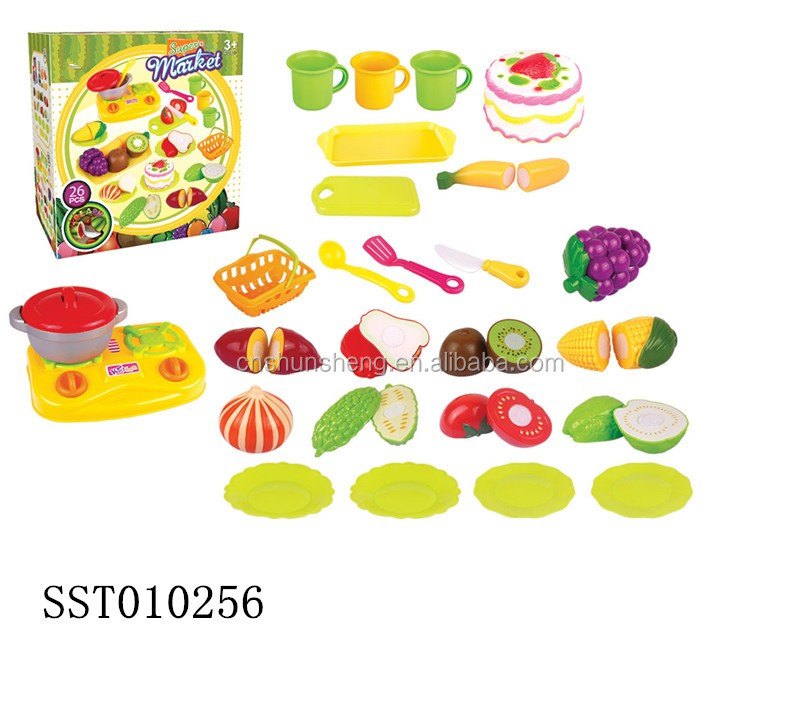 Plastic cutting fruits for kids