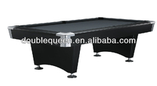 cheap slate billiard table with metal corner and leg levers
