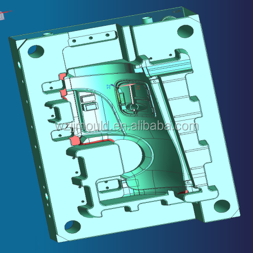 CNC high precision plastic injection molds for automobile sensor ,cheap injection mold