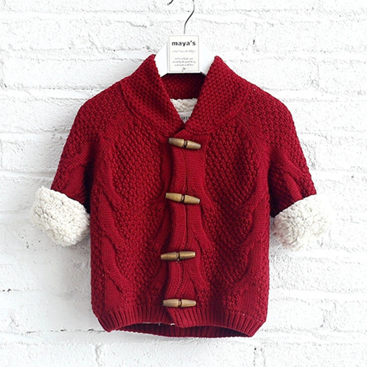 Newest product stylish cardigan designs for girls baby sweater design