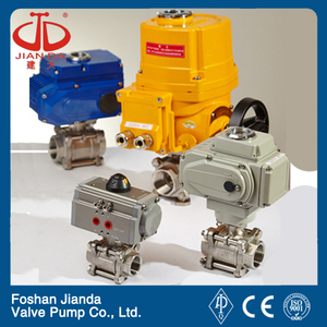 12v butterfly pvc actuator solenoid exhaust water actuated gate control shut off actuator motorized pneumatic electric valve