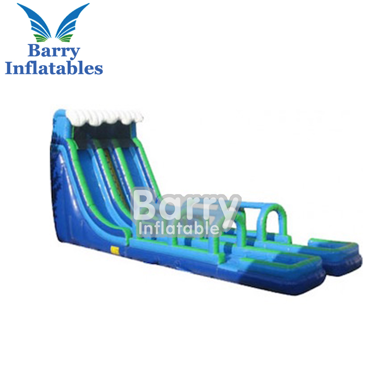 China inflatables custom inflatable slip n slide water slide, giant slip and slide for adults and kids