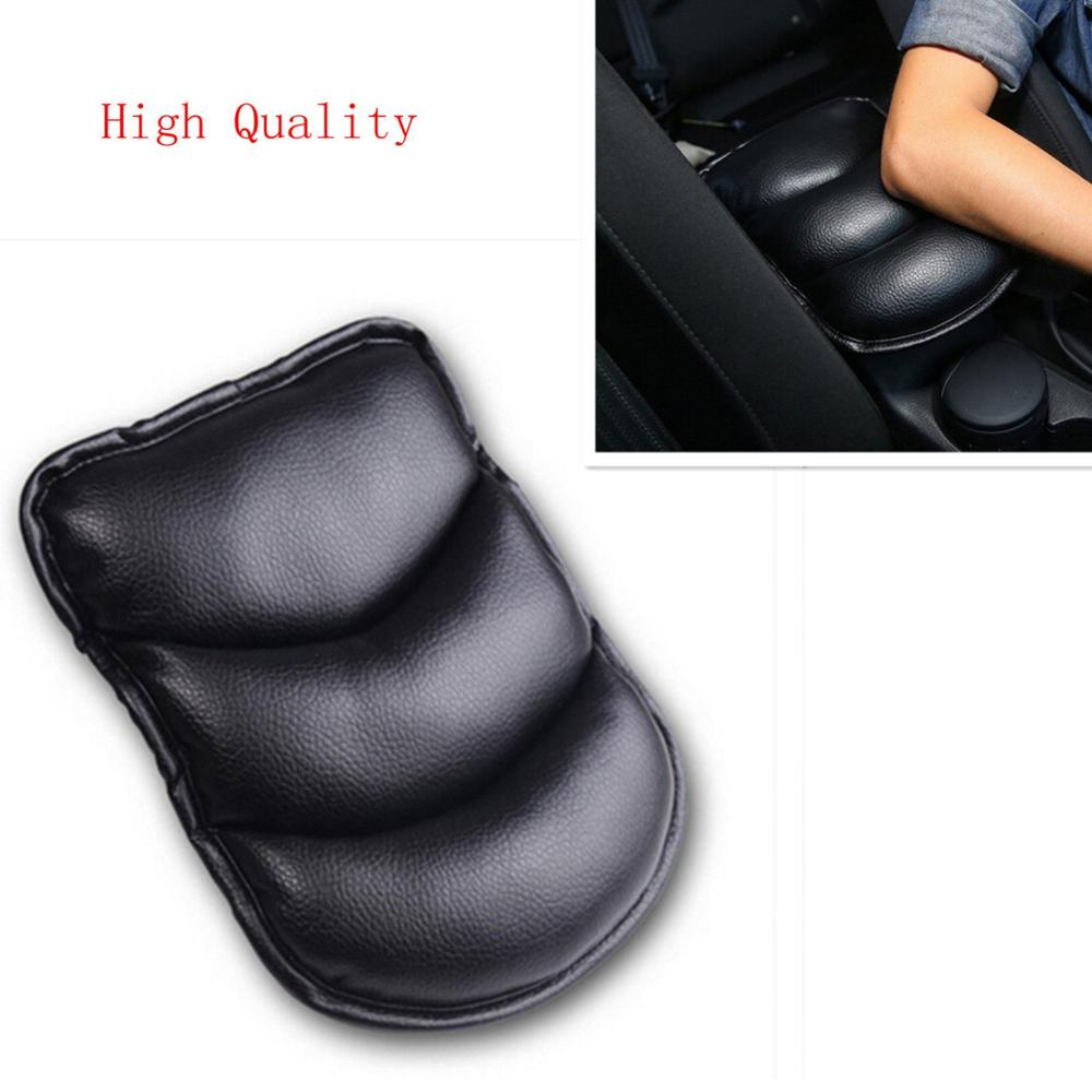 Car Interior Armrest Bo Center Console Soft Pad PU Leather Seat Cover