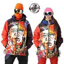 outdoor Men snowboard Outdoor Snow Sport Skiing Suit Jacket Waterproof Windproof Breathable Thermal Ski Suit Jacket for Men