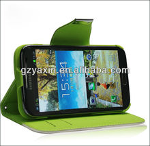 Stand wallet leather case for Samsung note 2 N7100,wallet leather case for samsung galaxy note2