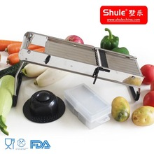 hand operation stainless steel vegetable cube cutter machine home use