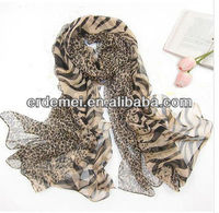 Fashion chiffon printed arab scarf women