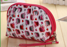 Wholesale Mini Polyester Aapple Logo Cosmetic Bags