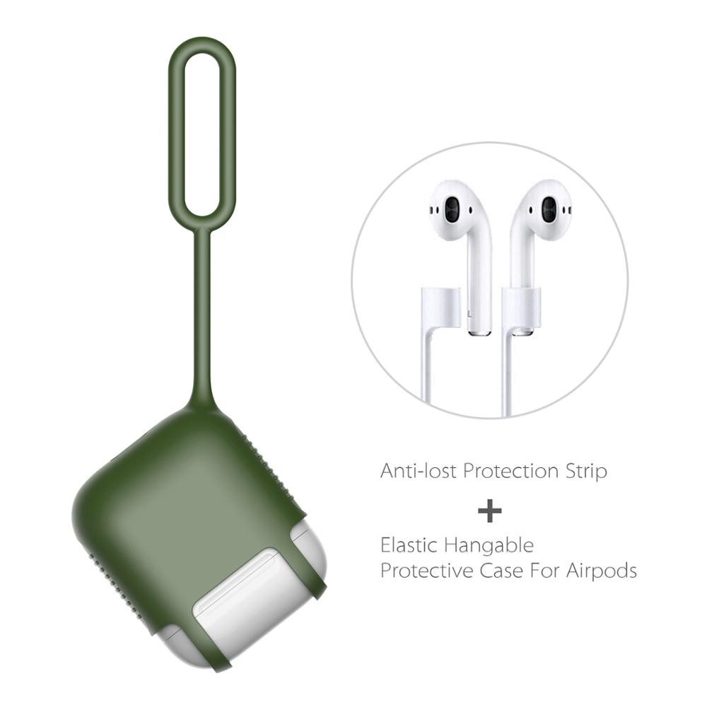 2017 ThanksGiving Day Gift Silicone Airpod case Protective Cover and Skin for Apple Airpod Charging Case