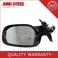 Guangzhou Supplier 5 Line Rearview Mirror for Toyota Yaris RHD 52875-52141