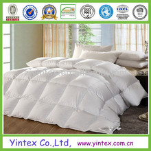 luxurious baffled white decorative down comforters made in china