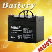 Maintenance-Free Operation 12v33ah acid lead battery