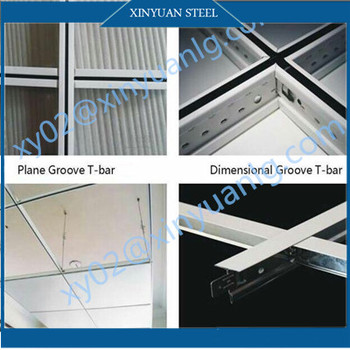 Wholesale Normal Plane T-Grids, Ceiling Tee Bar, Suspended Grid System