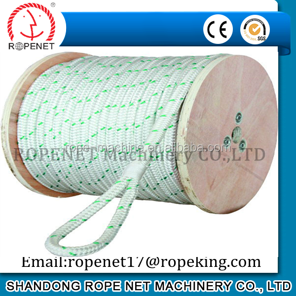 polyester 3 strands twisted rope