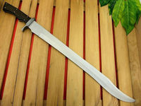 The Warrior Sword Jacob's Custom handmade D2 Steel-Damascus Guard Knife V.Sharp