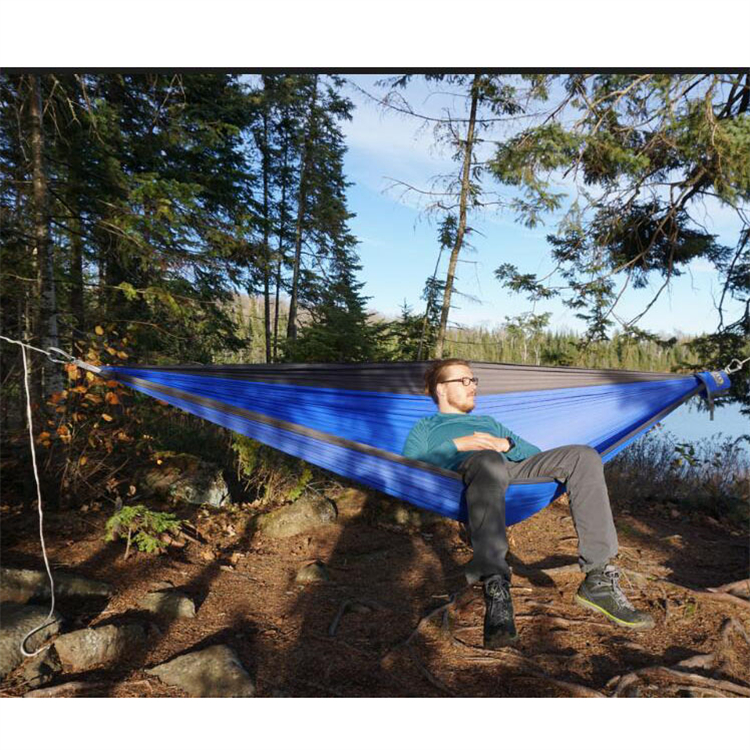Wholesale Lightweight Outdoor Camping Sleeping Portable Folding Hammock