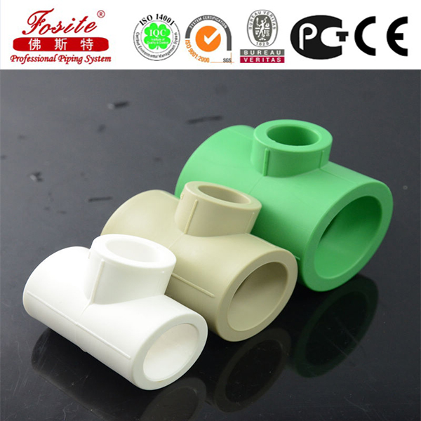 large diameter plastic water pipe Newest Grey Ppr Pipe Fitting Ppr Standard Reducing Tee Sizes Ppr Pipe Fitting Reducing Tee