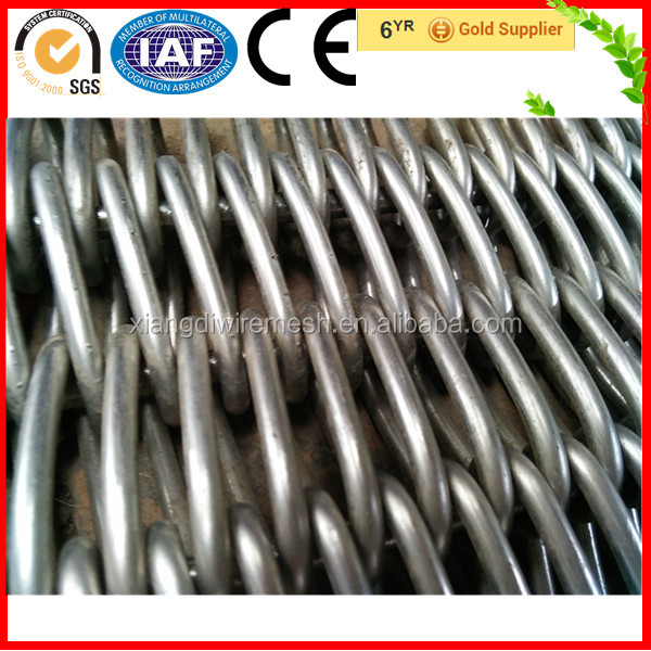 Stainless Steel Wire Mesh Balanced Conveyor Belt