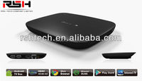 best selling android smart tv box iptv box , Supports Airplay Miracast and DLNA