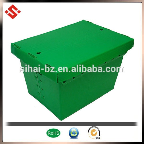 container storage coroplast pp recycled plastic stroge box corrugated plastic sheet box