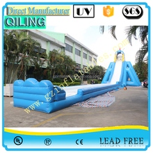 {Qi Ling}top quality inflatable giant slide, adult water slip and slide, big water slide for sale