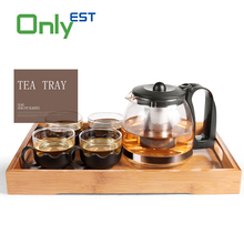China manufacturer high quality lightweight custom bamboo tea tray