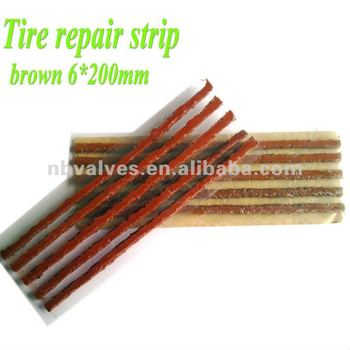 Tire Seal / tire repair strip 6X200mm / Tire seal string