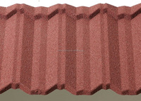Metal Roofing Tiles Materials Aluminum Zinc Sheets Shingle Stone Coating Color Roof Panels with Price