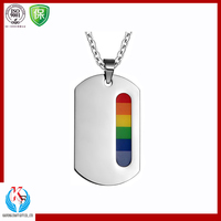 Economical Oval Army Logo Metal Dog Tag
